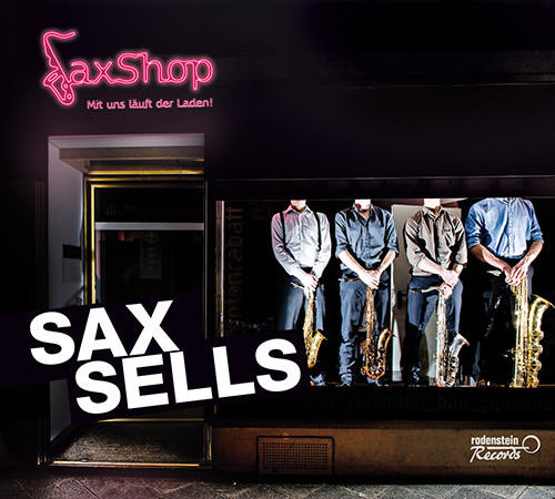 Album Cover Sax Sells